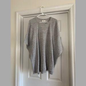 Vineyard Vines ribbed sweater poncho